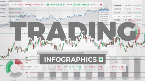 Videohive - Trading Infographics